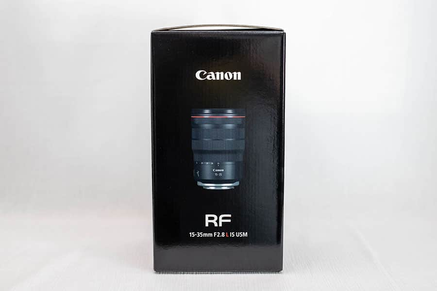 RF15-35mm F2.8 L IS USM 外箱
