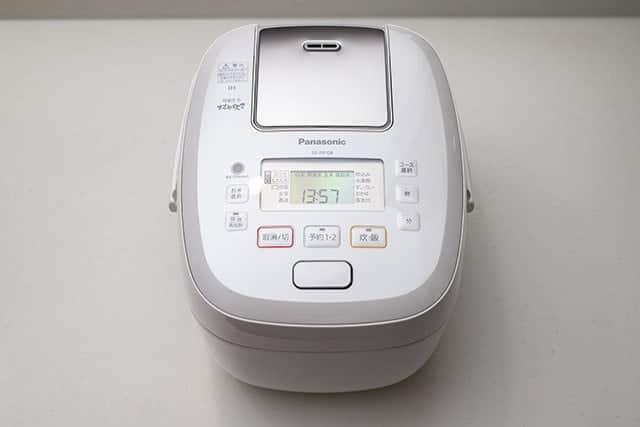 パナソニック 炊飯器 5.5合 圧力IH式 おどり炊き ホワイト SR-PB108-W
