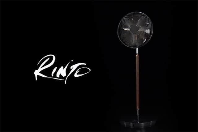 ウォールナット材を使った10万円の超高級扇風機 パナソニックの『RINTO(リント)』は素晴らしい造形美。