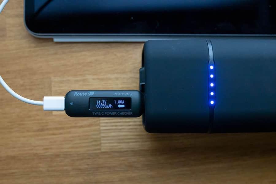 RP-PB054Pro iPad Pro 11インチに充電してみた