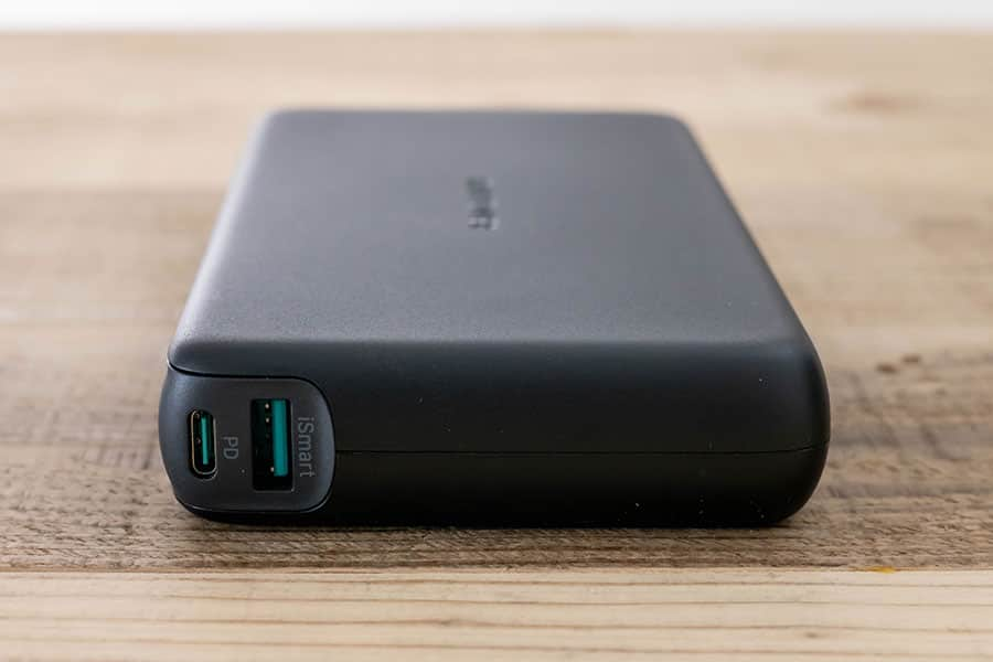 USB-CとUSB-Aポート