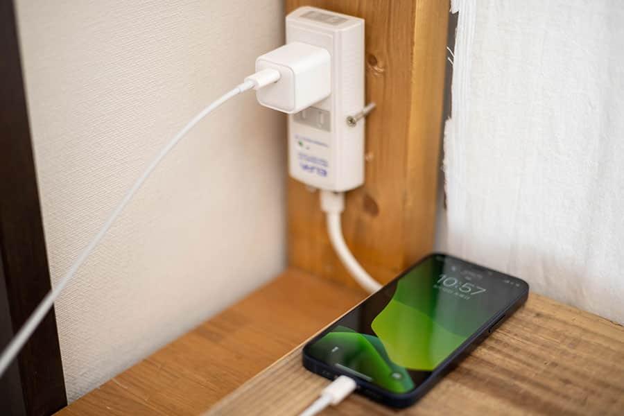 iPhone 12 miniで充電時の電流と電圧をチェックしてみた