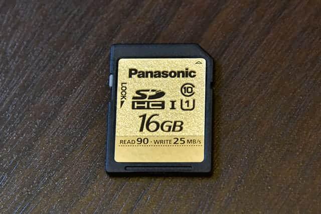 Panasonic 16GB SDHCカード