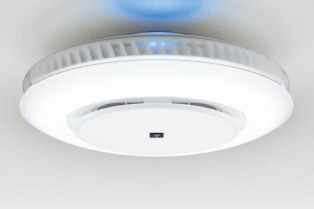 業界初!LEDシーリングライト一体型空気清浄機が発売開始。設置場所に悩む必要なし