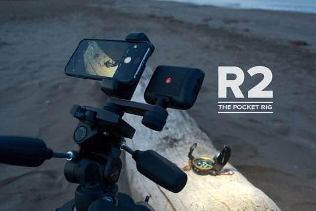 iPhoneでガンガン撮影するための拡張リグセット『Shoulderpod R2』外部マイクやライトを追加可能