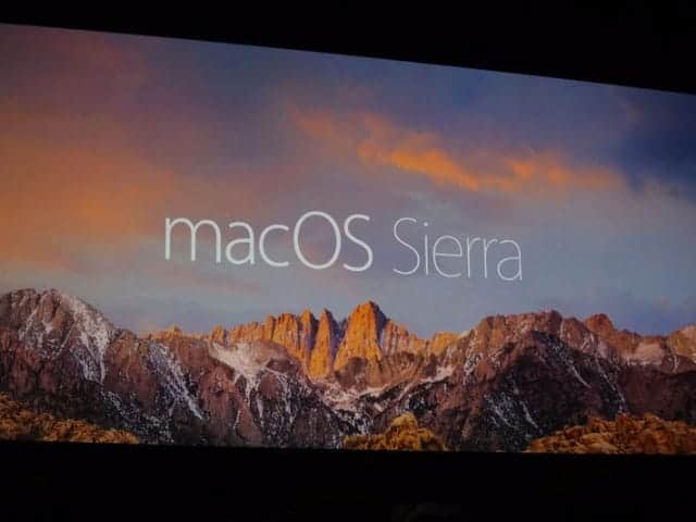 macOS Sierra 次期OSで知っておくべきこと