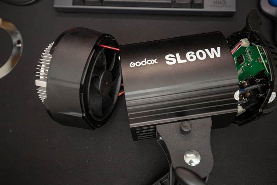 Godox SL60W 分解完了