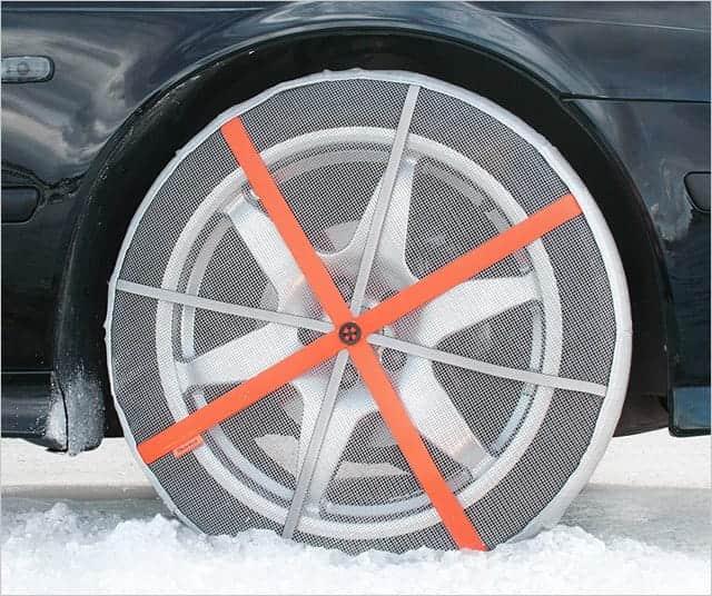 AutoSock 布製タイヤすべり止め