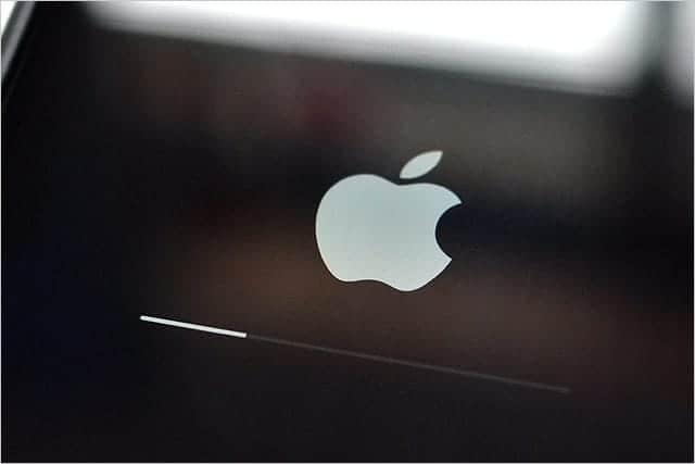 iOS ソフトウェアアップデート