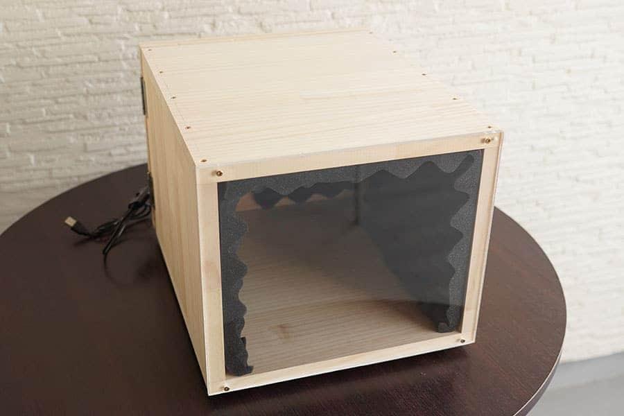静音ボックス 試作品の完成