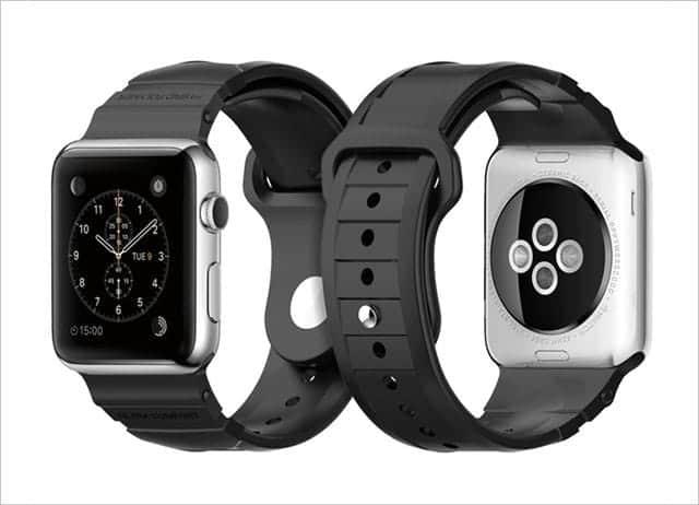 Apple Watch SportのバンドをG-SHOCKみたいにちょっとゴツくできるバンドが登場