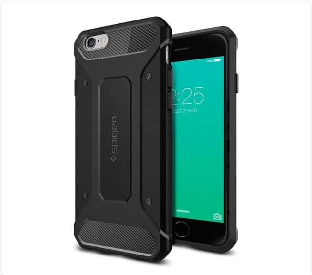 Spigen iPhone 6s /6s Plus向けケース カプセル ウルトラ ラギッド