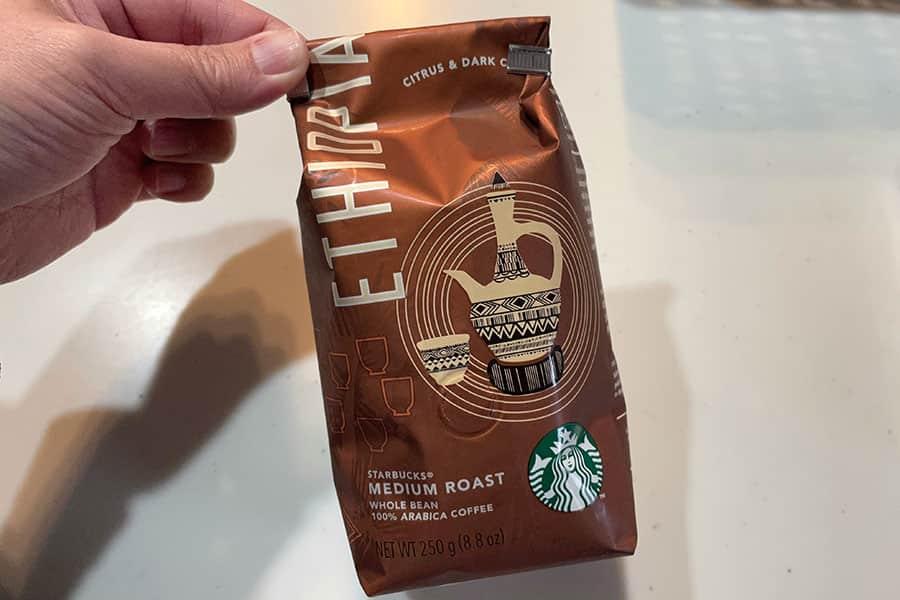 スターバックスのコーヒー豆を自宅で挽いて飲んでみた結果