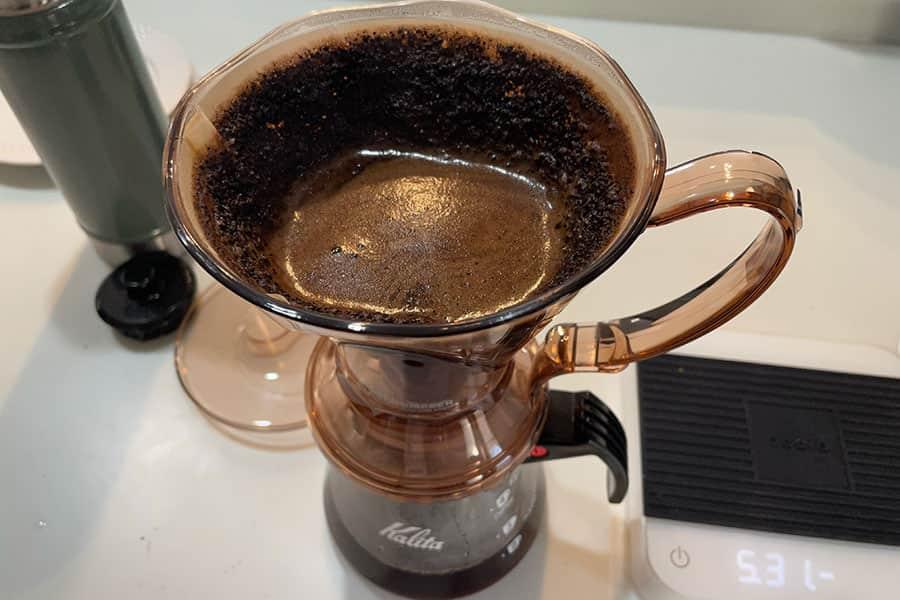 クレバードリッパーで淹れたスタバのコーヒー