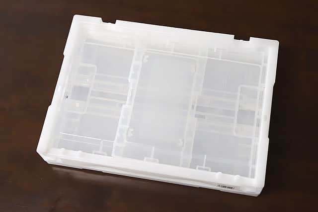 TRUSCO(トラスコ) スケルコン折りたたみコンテナ 20L 透明