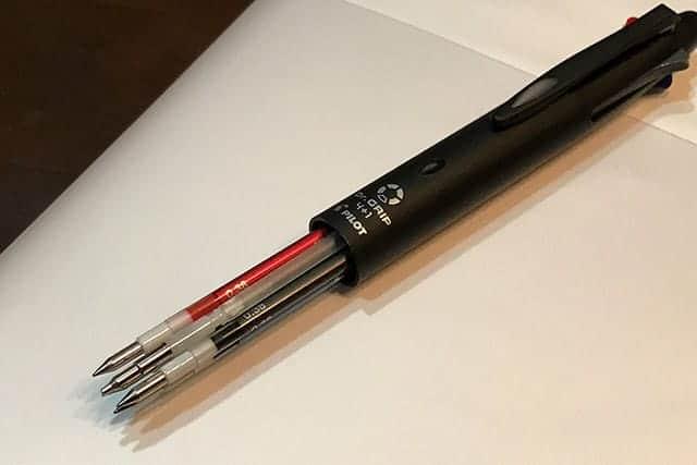 ジブン手帳にはジェットストームは危険!ドクターグリップとスタイルフィットでボールペンをカスタマイズ