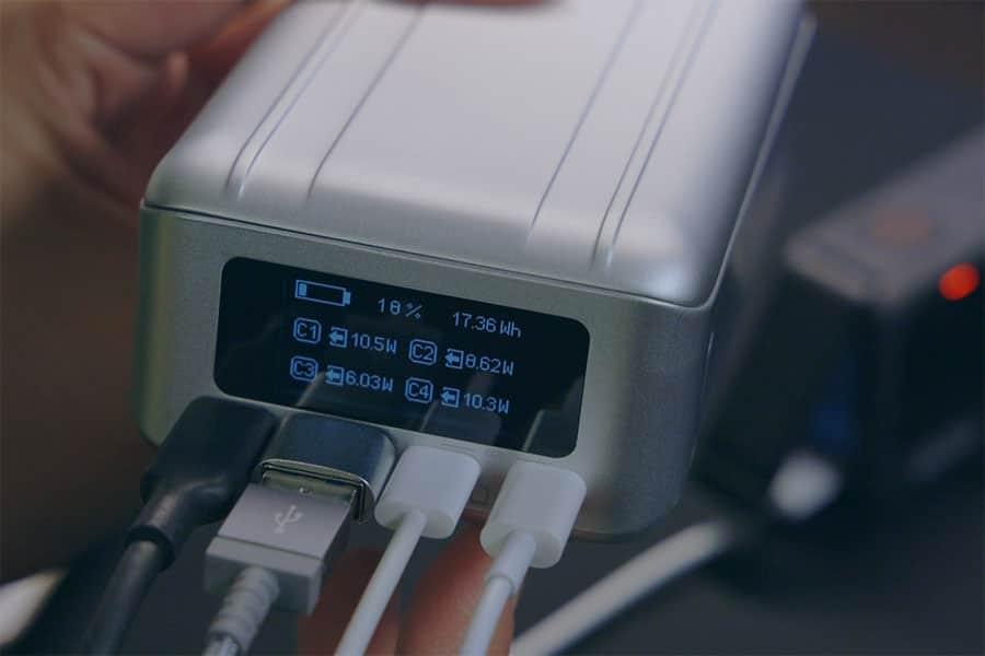 100W出力&26800mAhのモバイルバッテリー『SuperTank Pro』レビュー!ディスプレイが最強