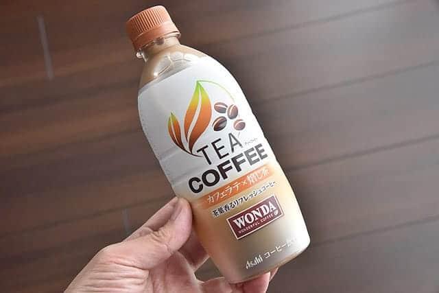 コーヒーなのにお茶?ワンダの新商品『TEA COFFEE カフェラテ焙じ茶』を飲んでみた