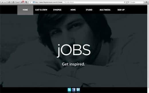 The Jobs Movie 公式サイトがオープン