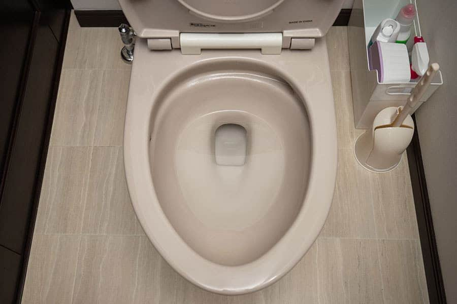 尿石がなくなった我が家のトイレ