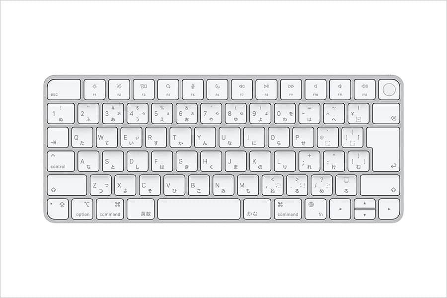 TouchID Magic Keyboardが単品で買えるようになってますよ