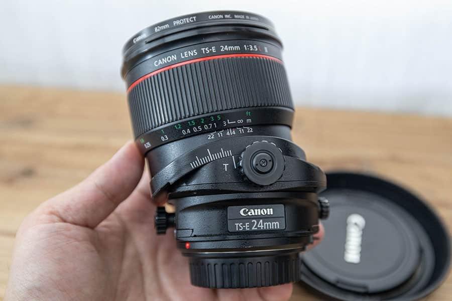 初めてのアオリレンズCANON『TS-E24mm F3.5L II』を使ってみた!