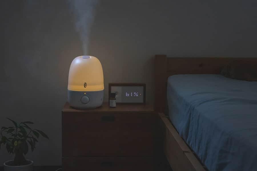 アロマオイルが使える加湿器レビュー!アロマの香りとナイトライトでリラックスタイム
