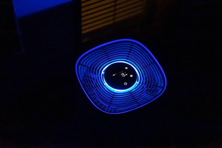 ランプの色 夜の時の見え方