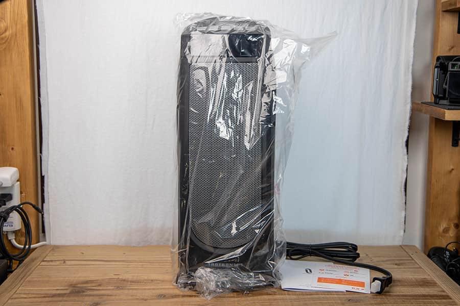 Taotronics セラミックヒーター TT-HE004 ブラック パッケージ一覧