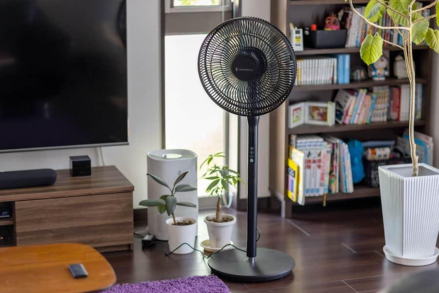 1万円以内で買えるDCモーター扇風機「TT-TF009」上下首振り&リモコン付きで超快適!