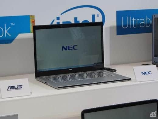 NECのウルトラブック