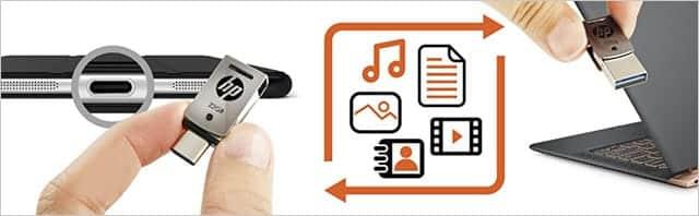 音楽や動画などのファイルを簡単に移動できる