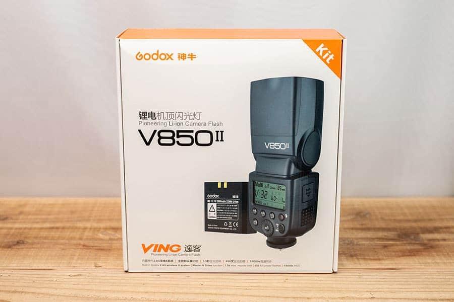 Godox V850II 外箱
