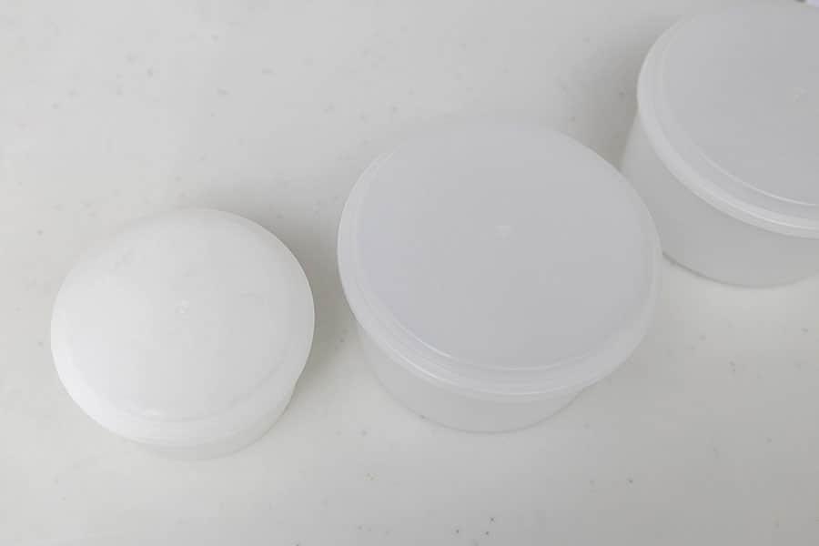 付属の製氷カップLサイズ