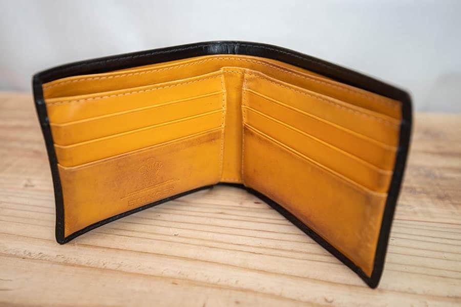 12年使い続けたエッティンガーの二つ折り財布