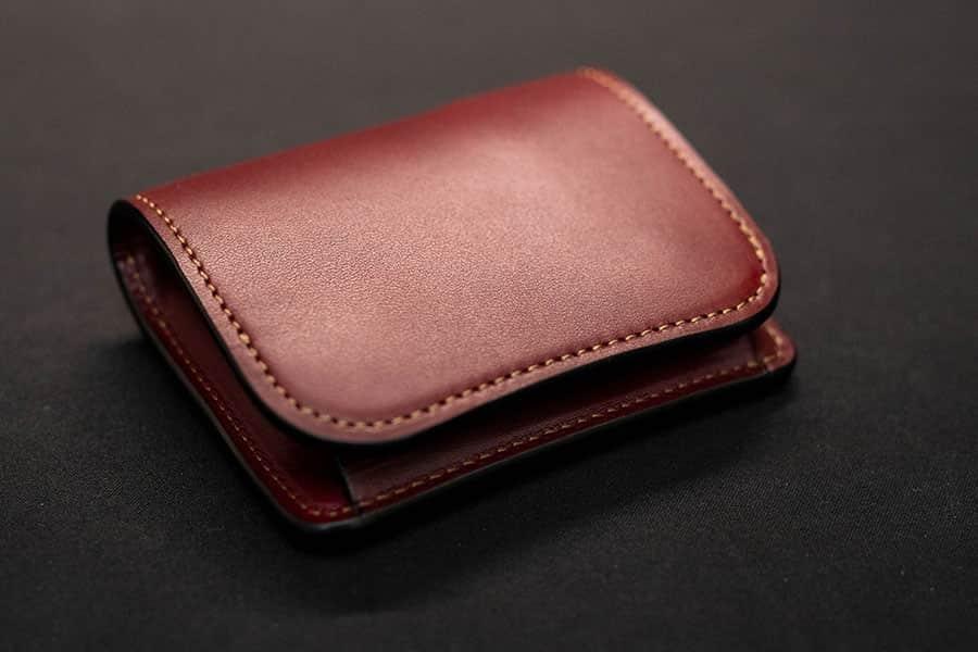 ワイルドスワンズのミニ財布『PALM(パーム)』エイジング1日目レビュー