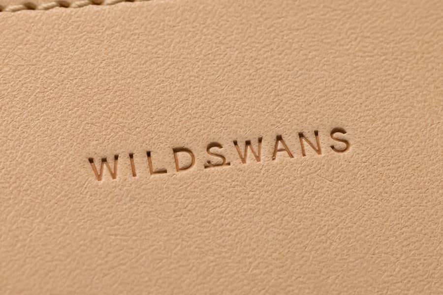 WILDSWANSロゴの刻印