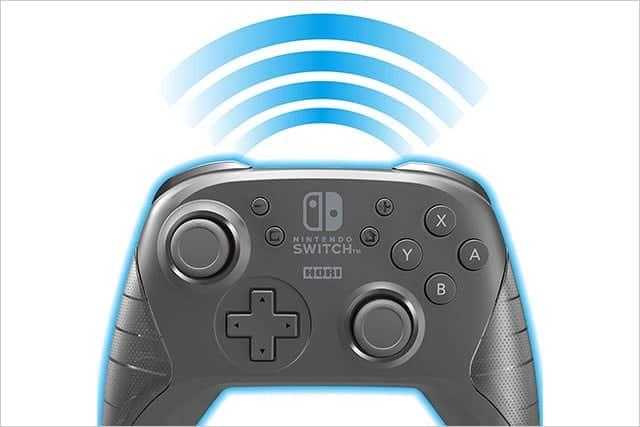 ワイヤレスホリパッド for Nintendo Switch 特徴