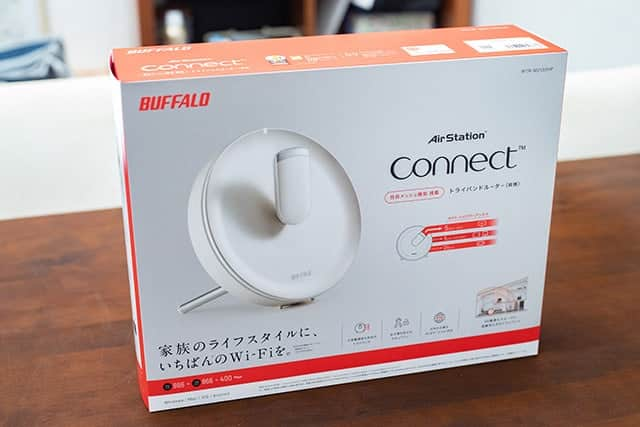 BUFFALO AirStation connect 親機 WTR-M2133HP