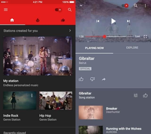 YouTube Music(ユーチューブミュージック)とは?