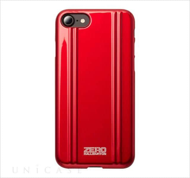 ZERO HALLIBURTON PC for iPhone7 レッド