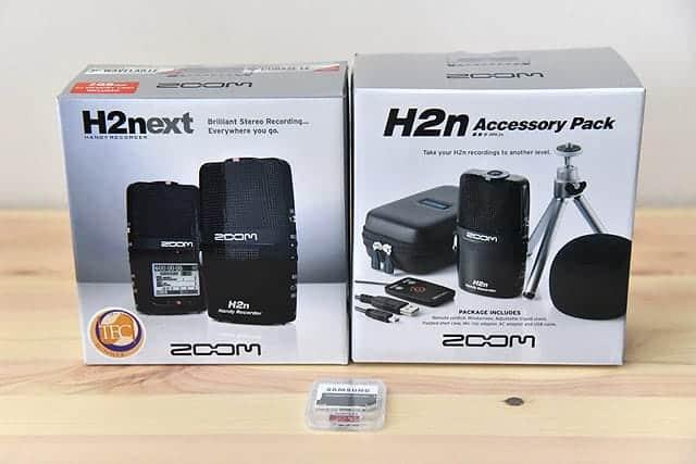 購入したH2nとアクセサリーパック