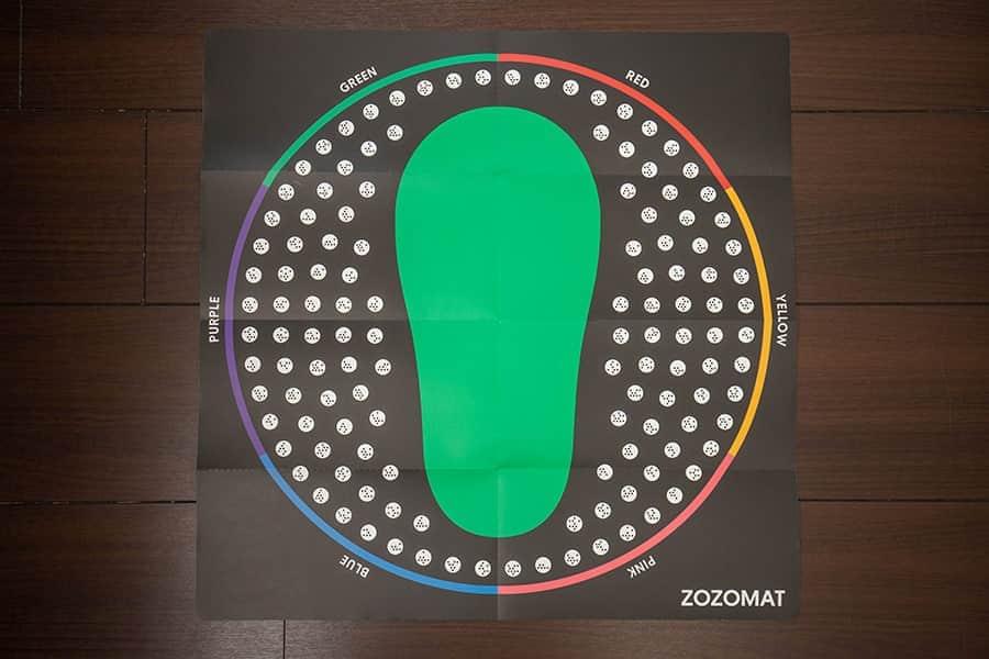 足のサイズちゃんと知ってる?ZOZOMATで正確なサイズを知ろう!